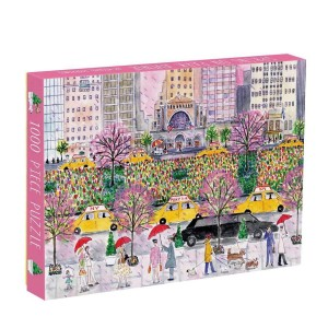 Puzzle 1000 Spring On Park Avenue Michael Storrings