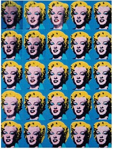 Puzzle 500 Andy Warhol Marilyn