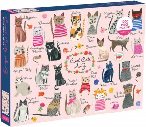 Puzzle 1000 Koty Cool Cats A-Z