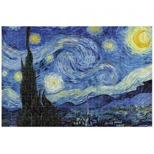 Puzzle mikro Starry Night Van Gogh Londji