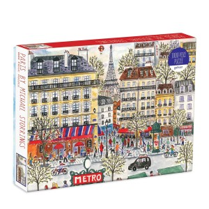 Puzzle 1000 Paris Michael Storrings