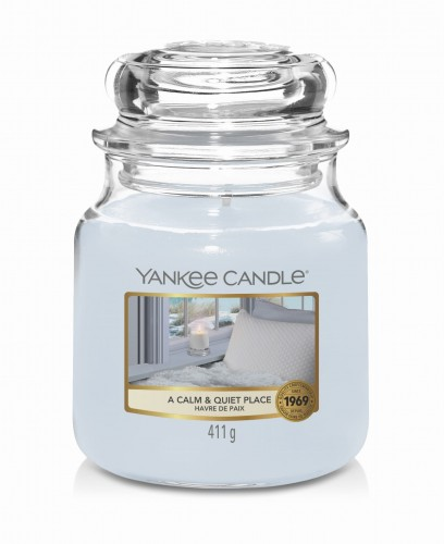 Świeca zapachowa Yankee Candle Calm and Quiet Place