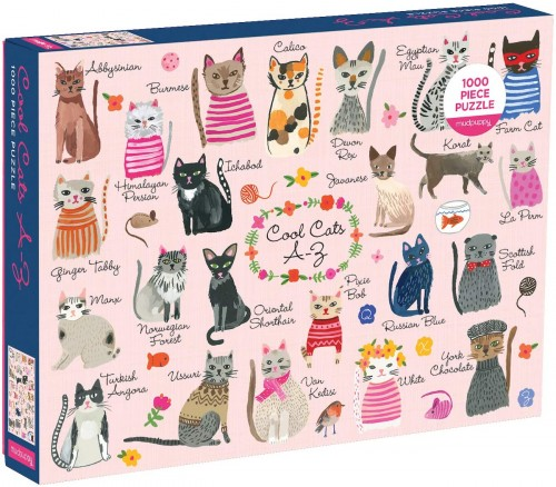 Puzzle 1000 Koty Cool Cats